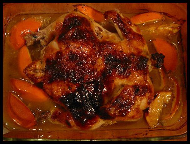 Honeyed Citrus Chicken