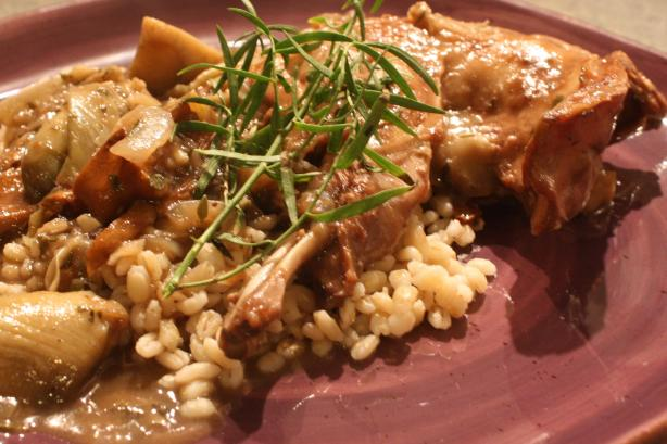 Lapin a La Cocotte - French Rabbit Stew