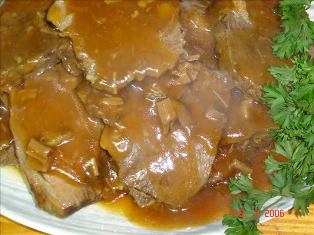 Spicy V-8 Pot Roast