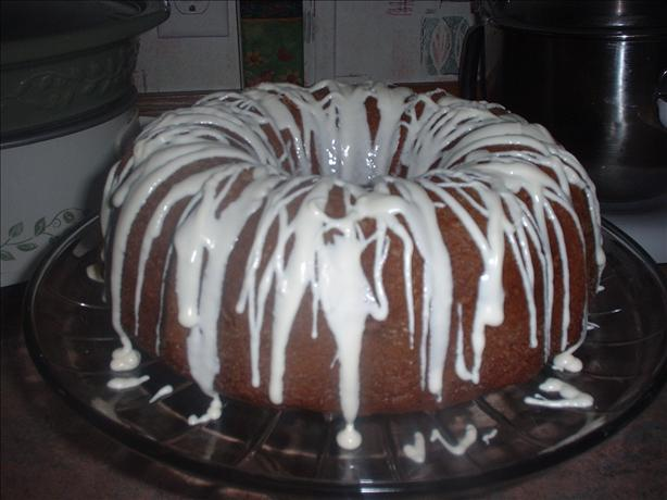 Triple Lemon Pound Cake