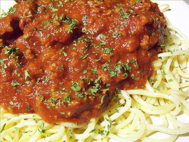 Ospidillo Cafe Spaghetti Sauce