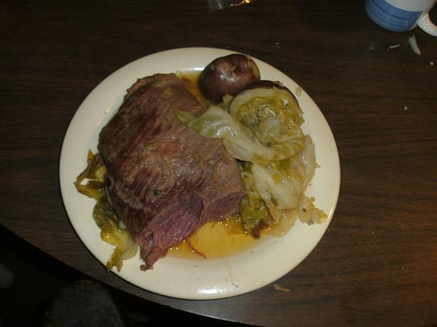 Lennie's Corned Beef Dinner