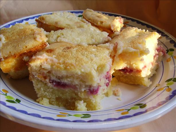 Raspberry Lemon Bars