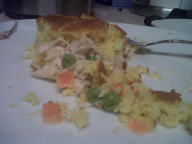Baked Creamy Chicken and Cornbread