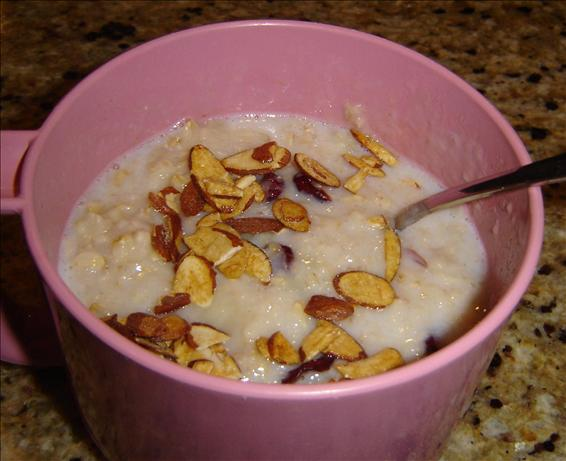 Nutty Banana Oatmeal