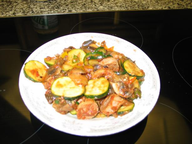 Ratatouille With Italian Sausage