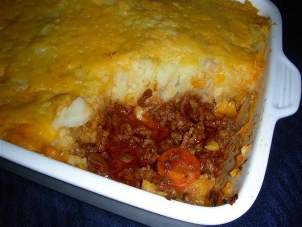 English Cottage Pie With Cheddar and Parsnip Mash
