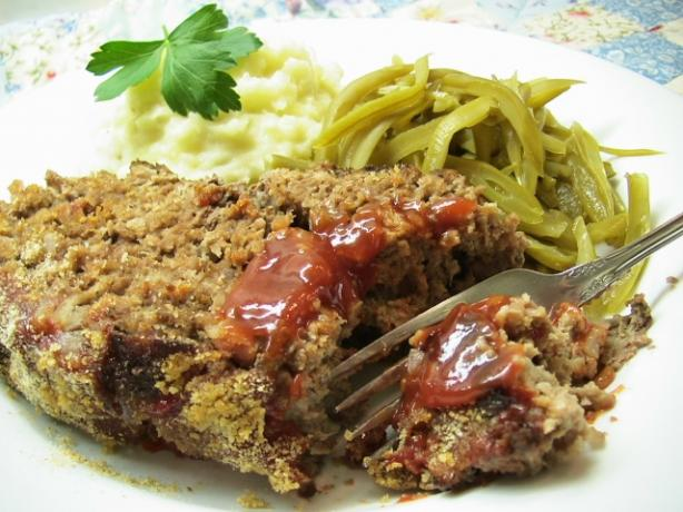 Mom's Meatloaf (German Falsche Hase)
