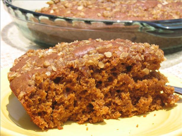 Gingerbread Streusel Cake
