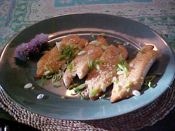 Gingered Fish