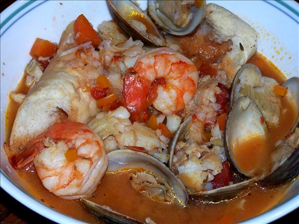 Ligurian Buridda (Italian Fish Stew)