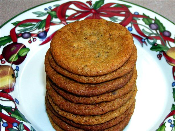 Flax Seed Honey Cookies