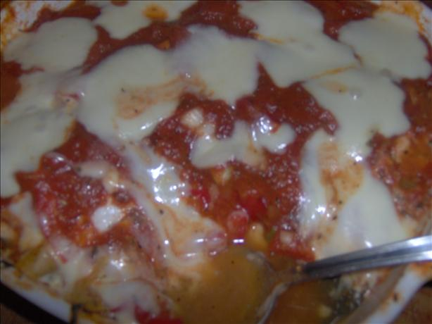Kathy's Vegetable Lasagna