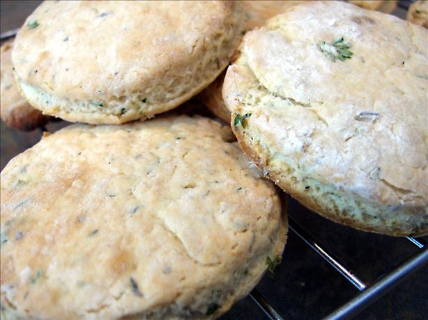 British Herb Scones (Biscuits)