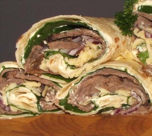 Zesty Roast Beef Roll-Ups