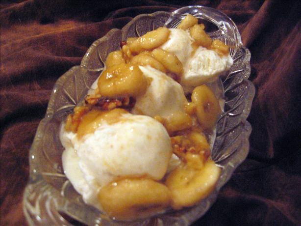 Vermont-Style Bananas Foster