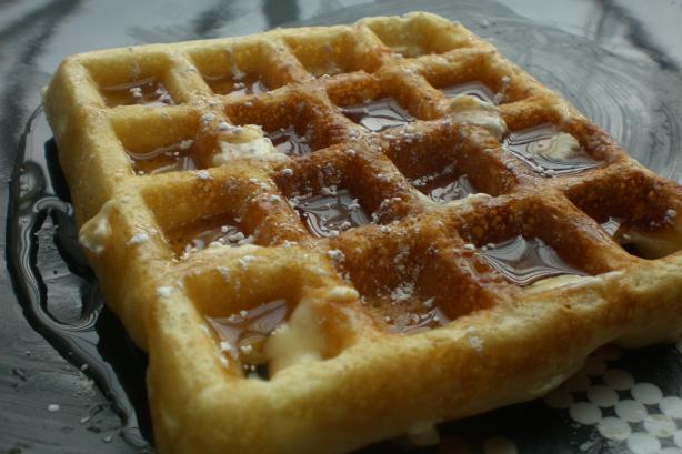 Belgian Waffles Texas Style