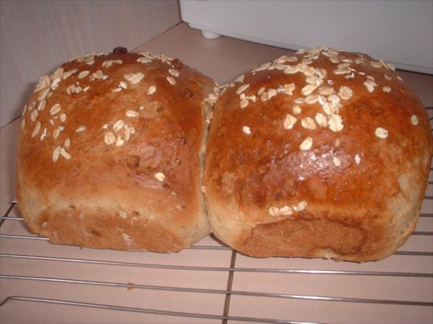 Oatmeal Walnut Bread