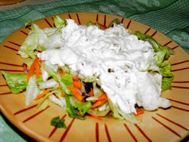 Creamy Pancetta Dressing and Iceberg Lettuce