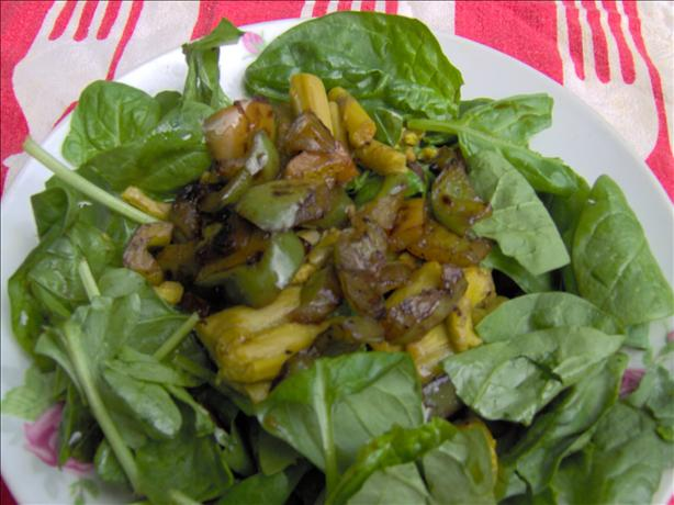 Asparagus and Spinach Salad