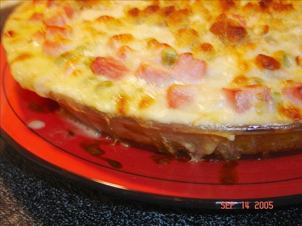 Ham and Stuffing Bake