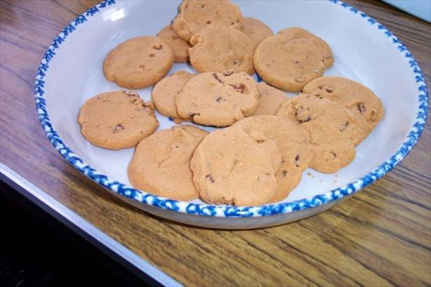 Quick Butter Pecan Cookies