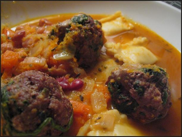 Meatball Tortellini Stew