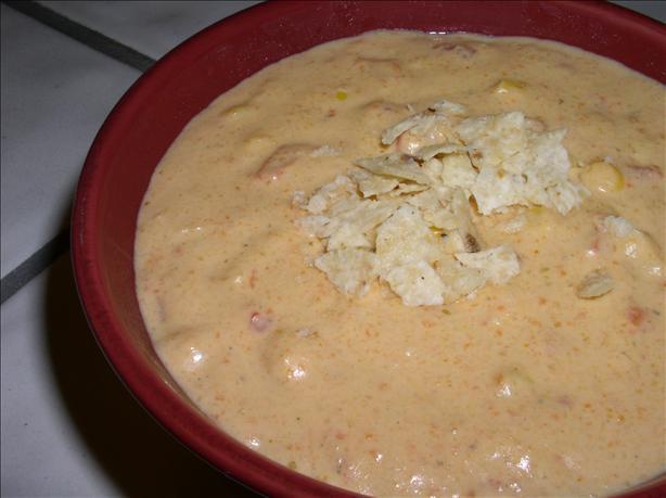 Vegetarian Fiesta Con Queso Soup