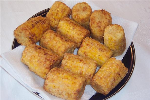 Chicken-fried Corn on the Cob