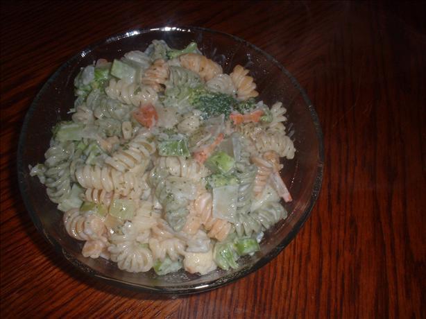 Vegetables & Garden Rotini Alfredo
