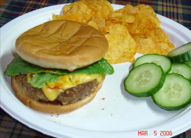 Oven Baked Burgers