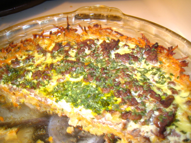 Meat & Potato Quiche