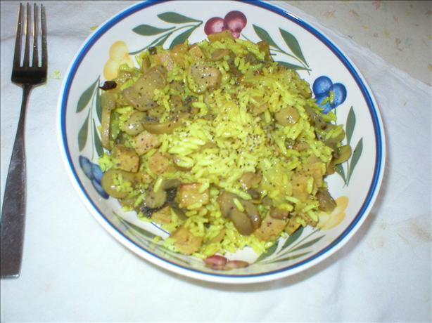 Curried Spam Pilaf