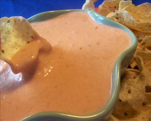 Copycat Pancho's Cheese Dip