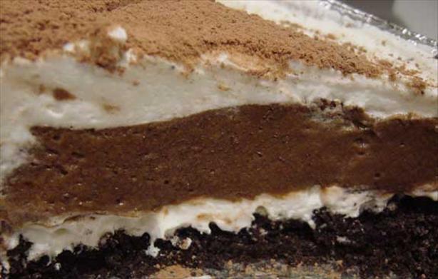 Chocolate Ribbon Cake