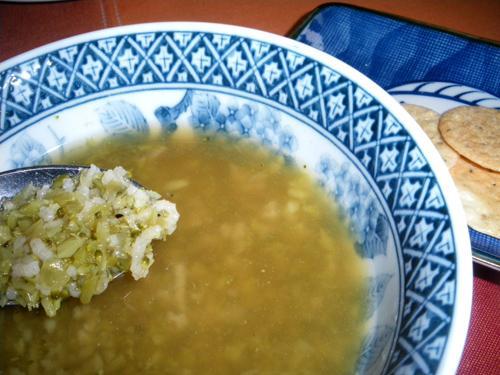 Simple Broccoli Rice Soup