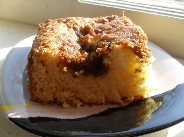 Crunchy Breakfast Cake