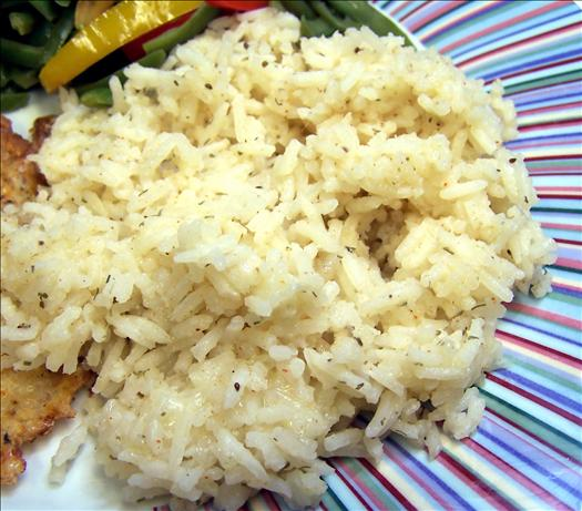 Dilly Cheesy Rice