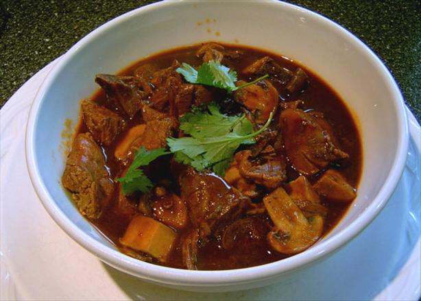 Lamb Chili With Mushrooms (Rick Bayless)