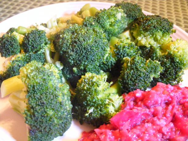 Broccoli With Garlic and Soy Sauce