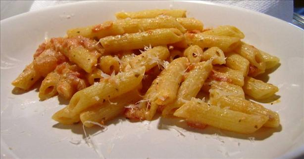 Easiest Penne With Vodka