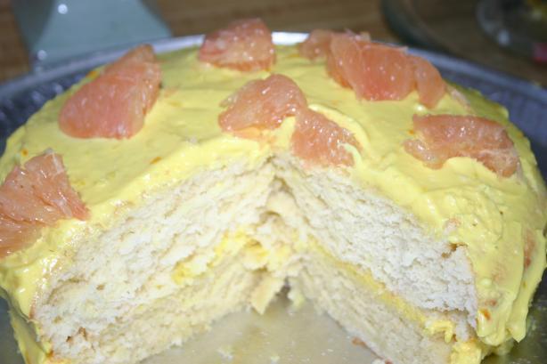 Disney Grapefruit Cake