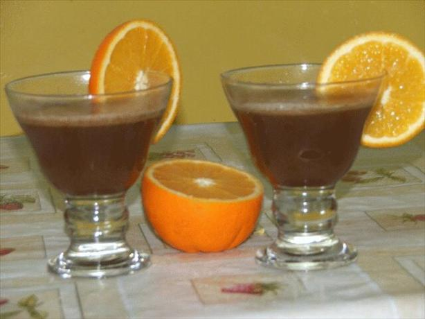 Hot Buttered Orange Brandy