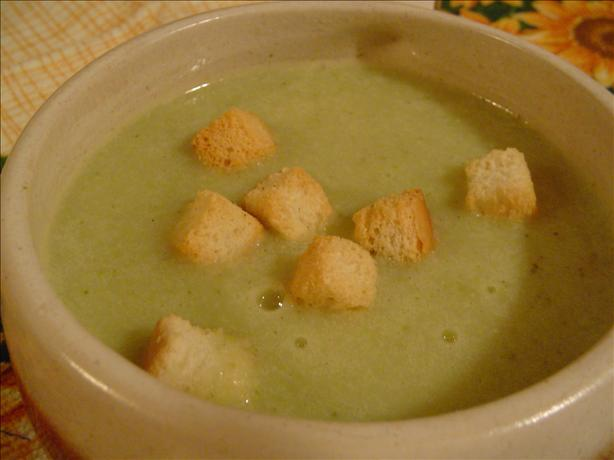 Cream of Broccoli Soup - Low Fat