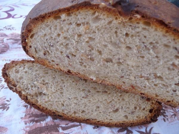 Sourdough Three Grain Bread (ABM)