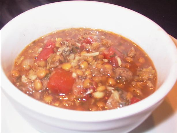 Lentil Soup With Lamb