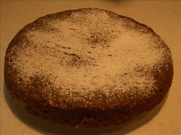 Chocolate-Jam Cake