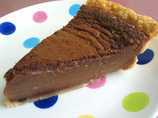 Luby's Cafeteria Chocolate Chess Pie