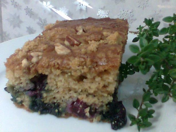 Blueberry Thyme Coffee Cake