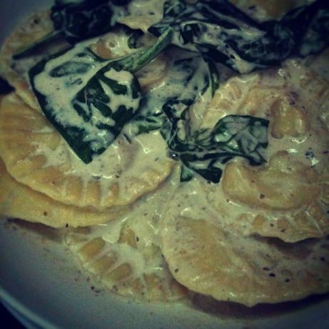 Cyn's Wild Mushroom Ravioli